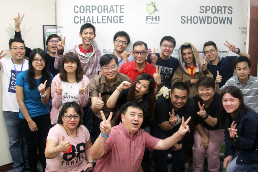 FHI Corporate Challenge Winners